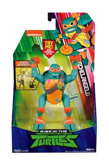 The Rise Of The Teenage Mutant Ninja Turtles - Michelangelo