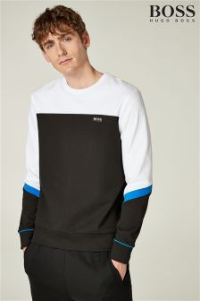 BOSS White Salbo 2 Sweatshirt