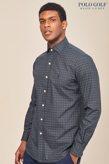 Polo Golf by Ralph Lauren Forest/Wine Check Shirt