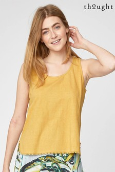 Thought Yellow Florianne Vest Top
