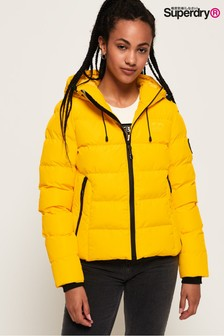 Superdry Yellow Padded Jacket
