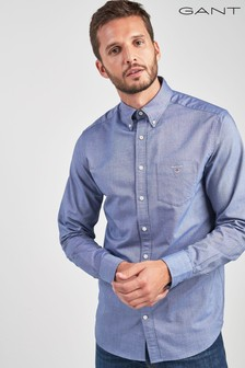 GANT Dark Blue Oxford Shirt