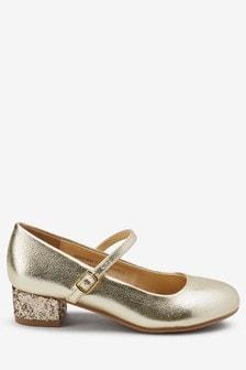 Buty w stylu Mary Jane, na obcasie (Starsze dziewczynki)