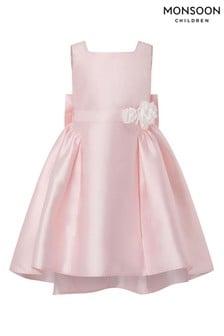 Monsoon Cynthia High Low Pink Dress