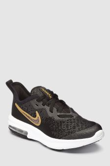 Nike Gym Black/Gold Sequent 4 Shield