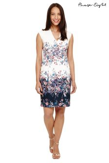 Phase Eight Multi Dina Floral Placement Dress
