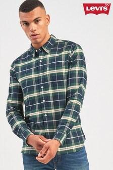 Levi's® Green Sunset Check Shirt