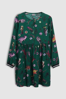 Dinosaur Printed Dress (3-16yrs)