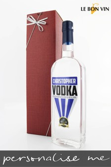 Personalised Irish Vodka Gift by Le Bon Vin