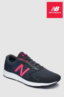 New Balance Black/Pink Flash