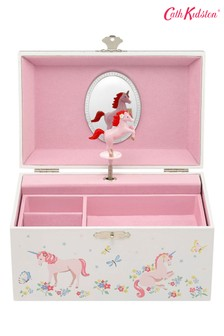 Cath Kidston® White Unicorn Meadow Jewellery Box