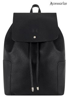 Accessorize Black Holly Backpack