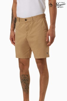 Original Penguin® Camel 8 Basic Logo Short W Shorts