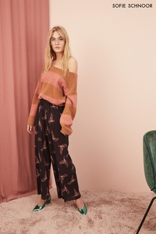 Sofie Schnoor Bird Print Trousers