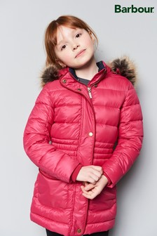 Barbour® Pink Redpole Quilted Coat