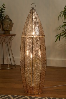 Nahla 2 Light Floor Lamp