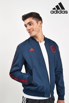 adidas Navy Arsenal Football Club Jacket