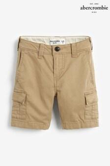 Abercrombie & Fitch Khaki Cargo Shorts