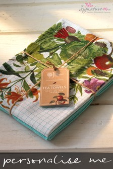 Personalised RHS Tea Towels by Signature PG