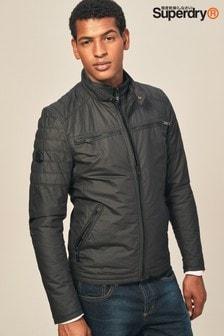 Superdry Black Biker Jacket