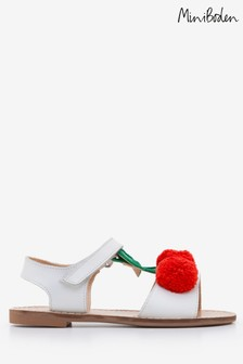 Boden White Holiday Sandal