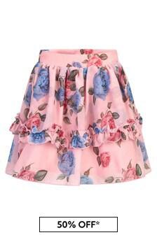 Patachou Girls Red Skirt