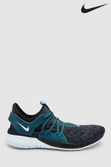 Nike Run Navy Flex Contact 3 Trainers