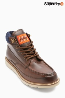Superdry Tan Mountain Range Boot
