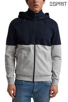 Esprit Blue Sweatshirt With Zipper