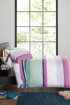 2 Pack Multi Stripe Bed Set