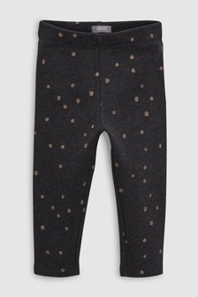 Glitter Spot Snuggle Leggings (3mths-6yrs)