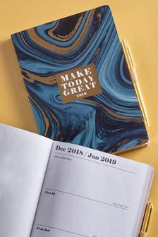 A5 Marble Diary