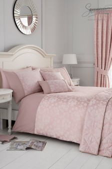 Blossom Duvet Cover And Pillowcase Set by Serene