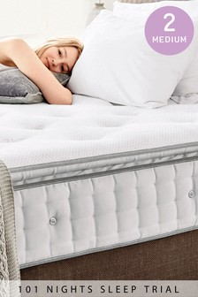 1000 Pocket Sprung Luxury Pillow Top Medium Mattress
