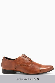 Punch Toe Cap Oxford