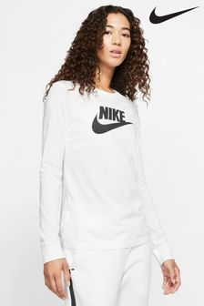 Nike Essential Futura Icon Long Sleeved T-Shirt