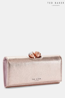 Ted Baker Muscovy Rose Gold Textured Bobble Purse