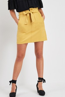 Paperbag Mini Skirt