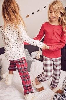 2 Pack Woven Pyjamas (3-16yrs)
