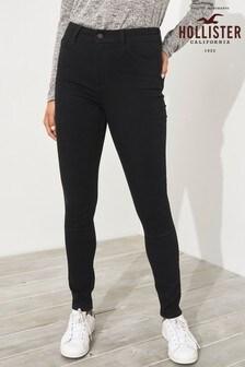 Hollister Black High Rise Super Skinny Jean