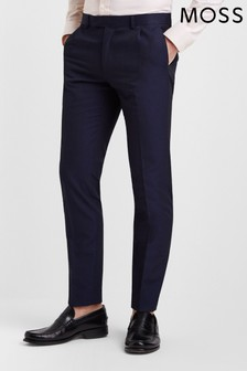 Moss London Skinny Fit Ink Trouser
