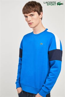 Lacoste® Sport Colourblock Blue Royal Sweatshirt