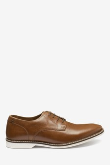 Contrast Sole Derby Shoe