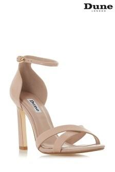 Dune London Blush Leather Shoe