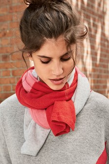 Cashmere Mix Scarf