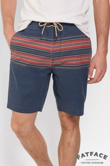 FatFace Navy Camber Stripe Swimmer
