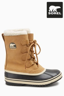 Sorel® Buff Tan 1964 Pac™ 2 Lace-Up Snow Boots