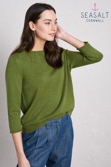 Seasalt Dark Citron Lovage Jumper