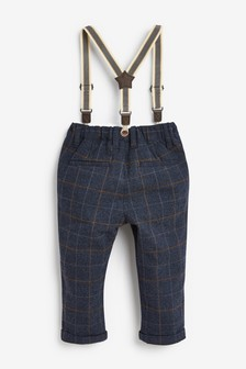 Formal Check Trousers (3mths-7yrs)