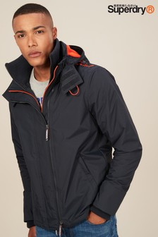 Superdry Navy Hooded Arctic Windcheater